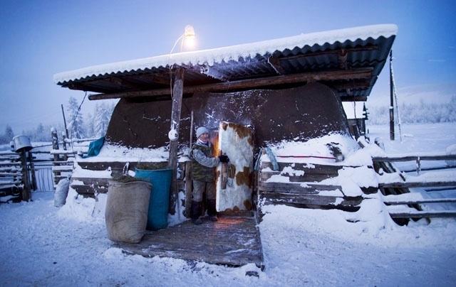 Dünyanın en soğuk köyü 6