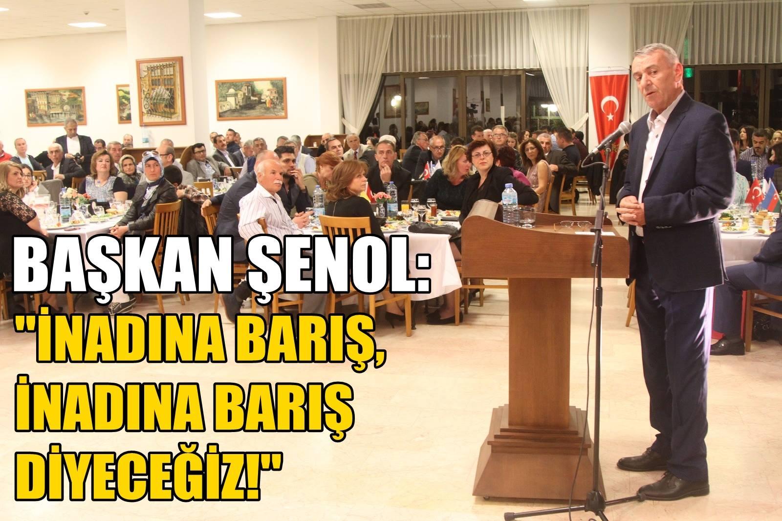 Halil İbrahim Şenol: İnadına Barış Diyeceğiz