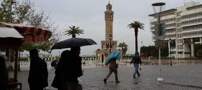 İzmir'e sağanak yağmur geliyor