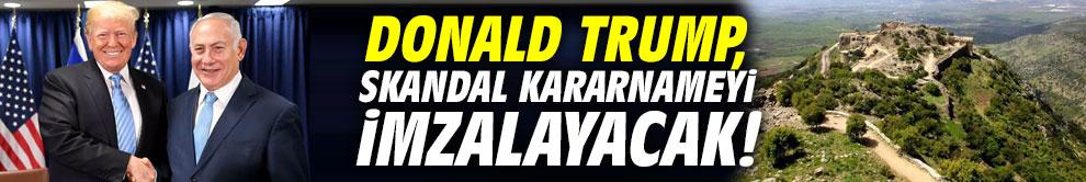 Donald Trump, skandal kararnameyi imzalayacak!