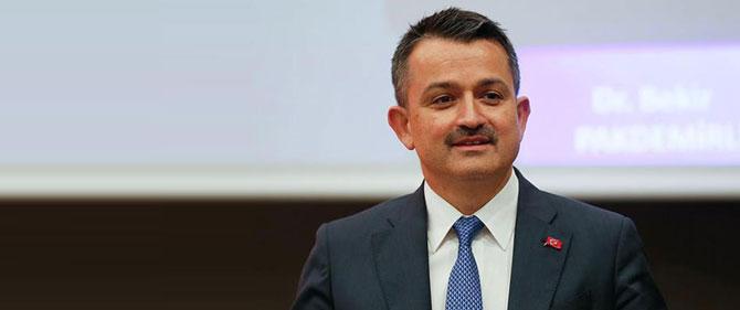 Bakan Pakdemirli'den İzmir'de önemli mesajlar