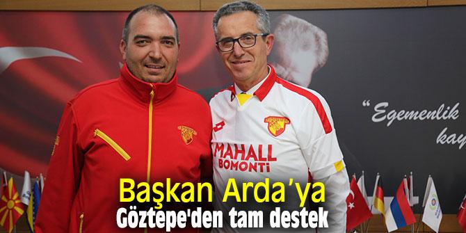 Göztepe'den Başkan Arda'ya destek geldi!