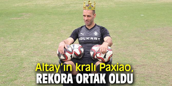 Altay'ın kralı Paxiao, rekora ortak oldu