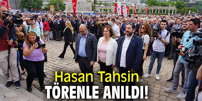 Hasan Tahsin törenle anıldı!