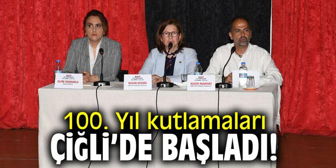 100. Yıl kutlamaları Çiğli'de başladı