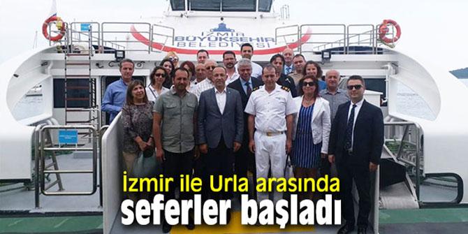 İzmir ile Urla arasında seferler başladı