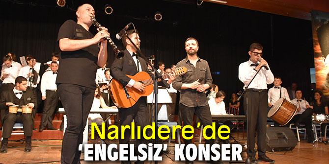 Narlıdere'de 'engelsiz' konser ile müzik ziyafeti sunuldu