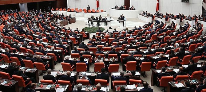Milletvekillerine ait 44 dokunulmazlık dosyası TBMM'de