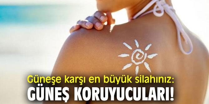 Güneşe karşı en büyük silahınız: Güneş koruyucuları!