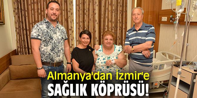 Almanya'dan İzmir'e geldi, sağlığına kavuştu