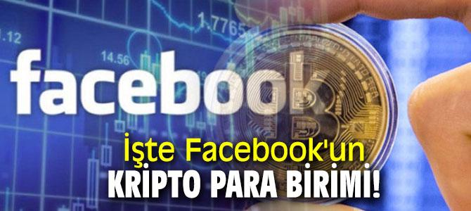 İşte Facebook'un kripto para birimi!