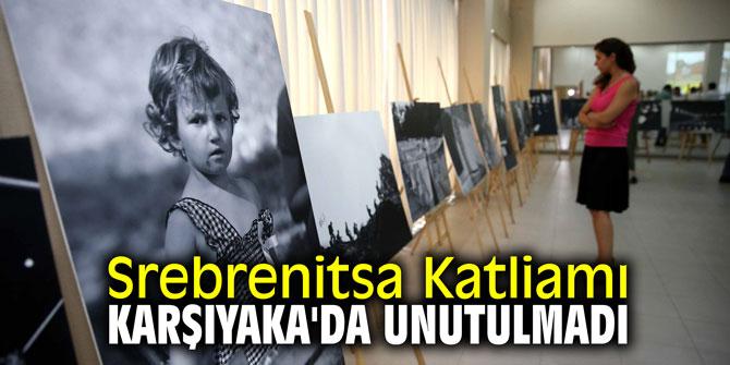 Srebrenitsa Katliamı Karşıyaka'da unutulmadı