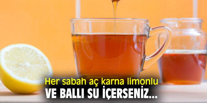 Etkisine inanmayacaksınız! Her sabah aç karna limonlu ve ballı su içerseniz...