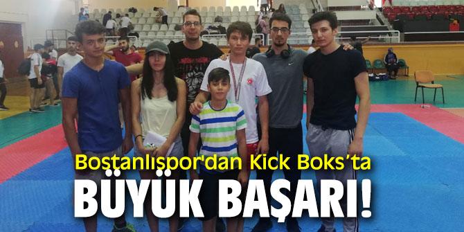 Bostanlıspor'dan Kick Boks'ta büyük başarı!