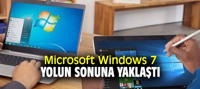 Microsoft Windows 7 tarih oluyor!