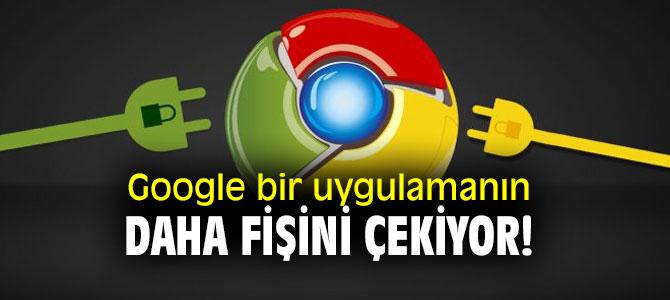 Google bir uygulamanın daha fişini çekiyor!