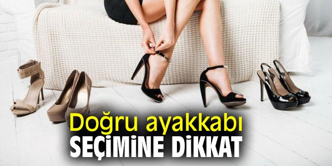 Yanlış ayakkabı seçimi sağlığı olumsuz etkiliyor