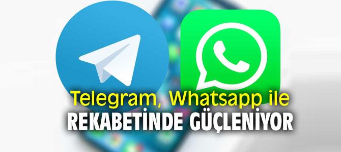 Telegram ve WhatsApp arasında sıkı bir rekabet yaşanıyor!