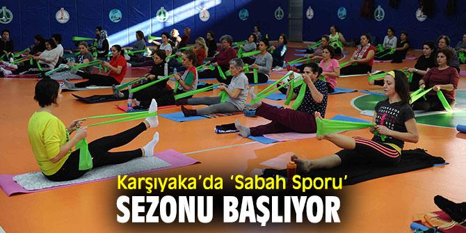 Karşıyaka Belediyesi, 'Sabah Sporu' etkinliklerini başlatıyor!