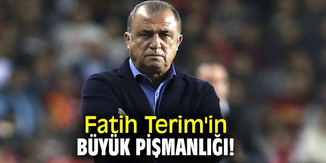 Fatih Terim'in Martin Linnes pişmanlığı!