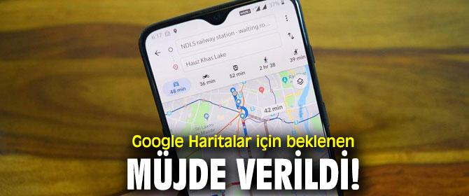 Google Haritalar'a karanlık mod geliyor!