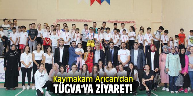 Kaymakam Arıcan'dan TÜGVA'ya ziyaret!
