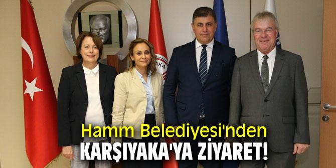 Hamm Belediyesi'nden Karşıyaka'ya ziyaret!