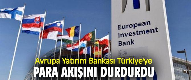 Avrupa Yatırım Bankası'ndan flaş hamle!