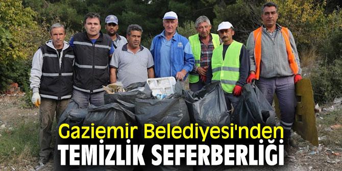 Gaziemir Belediyesi'nden temizlik seferberliği
