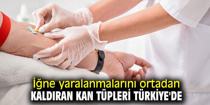 Dikkat! İğne yaralanmalarını ortadan kaldıran kan tüpleri artık Türkiye'de