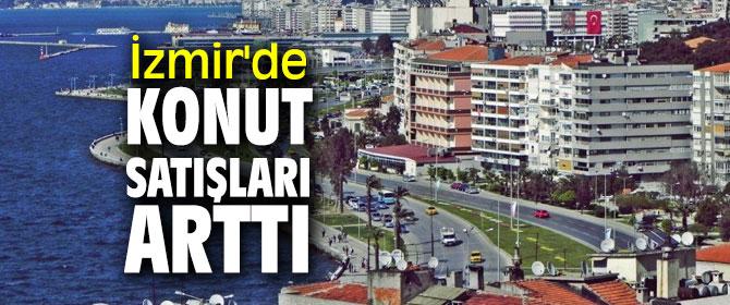 Türkiye İstatistik Kurumu açıkladı! İzmir'de konut satışları arttı