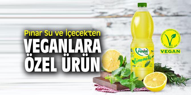 Pınar Su ve İçecek'ten veganlara özel ürün