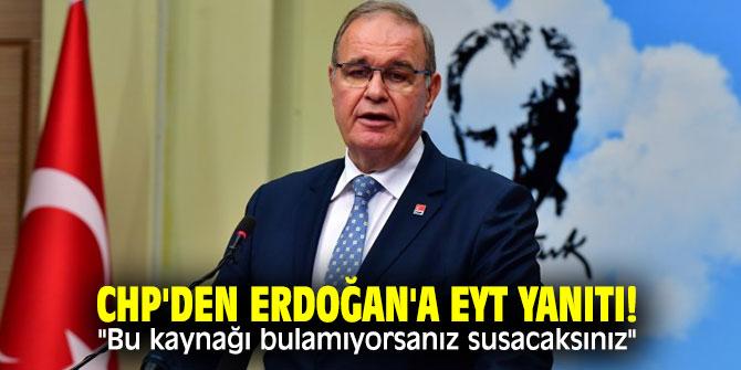 CHP'den Cumhurbaşkanı Erdoğan'a flaş EYT cevabı!