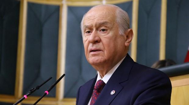 MHP lideri Bahçeli'den flaş açıklama! Cumhurbaşkanımızı destekliyoruz