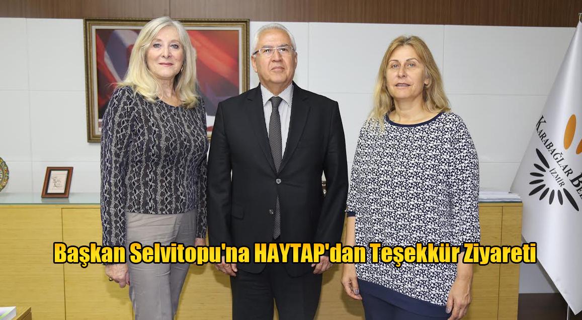 Başkan Selvitopu'na HAYTAP'dan Teşekkür Ziyareti