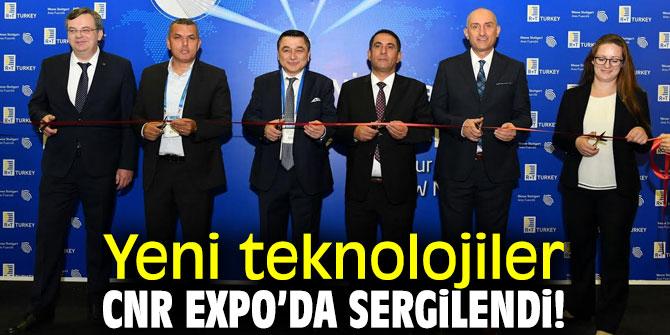 CNR Expo'da teknoloji fuarı