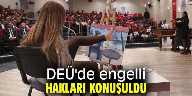 """DEÜ'de """"Engelli Hakları Sempozyumu""""düzenlendi!"""
