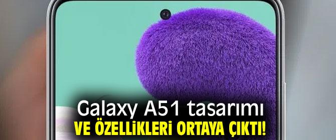 Yeni Galaxy A51 tasarımı ve özellikleri!