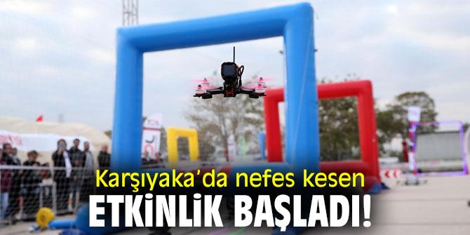 Karşıyaka'da 'DroneManya'ya büyük ilgi