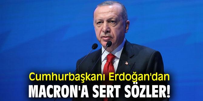 """Cumhurbaşkanı Erdoğan, """"Macron hala İslami terörden bahsediyor"""""""