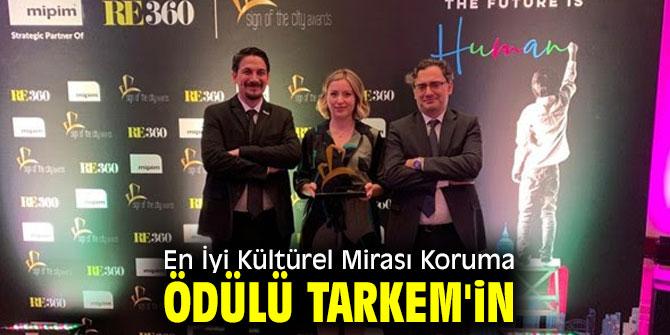 TARKEM'e En İyi Kültürel Mirası Koruma Ödülü!