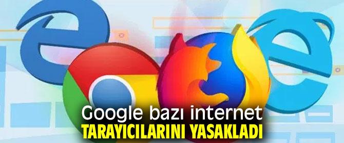 Dikkat internet tarayıcınız yasaklanmış olabilir!