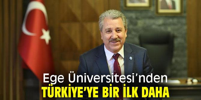 Ege Üniversitesi Türkiye'ye bir ilki daha gerçekleştirdi!