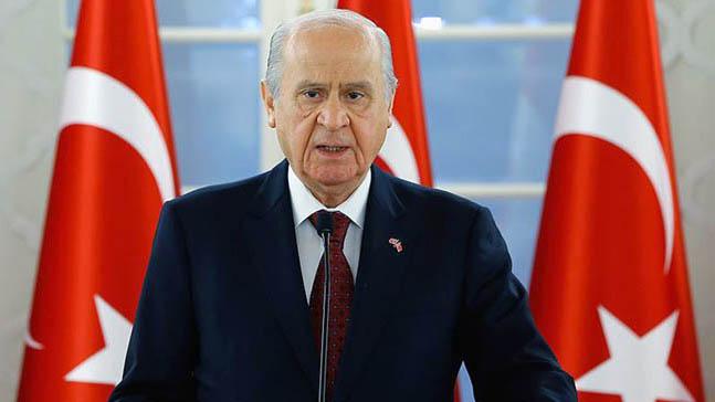 MHP lideri Bahçeli'den CHP'ye tepki! 'Kandil'e çadır kurun!'