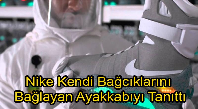 Nike Kendi Bağcıklarını Bağlayan Ayakkabısını Tanıttı