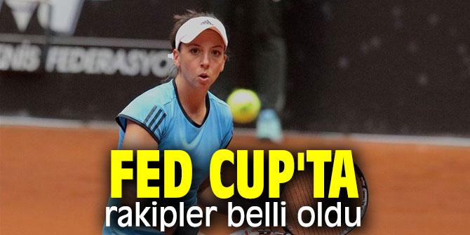 Fed Cup Avrupa/Afrika Bölgesi 1. Grup'ta rakipler belli oldu
