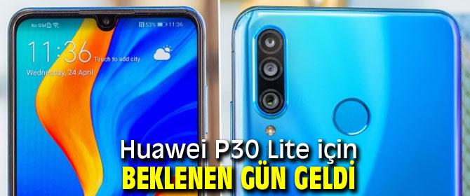 Huawei P30 Lite için beklenen güncelleme!