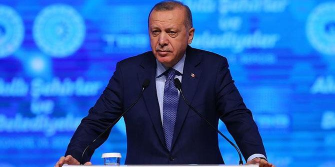 """Cumhurbaşkanı Erdoğan'dan flaş açıklamalar! """"Libya'da barışın anahtarı Türkiye'dir"""""""