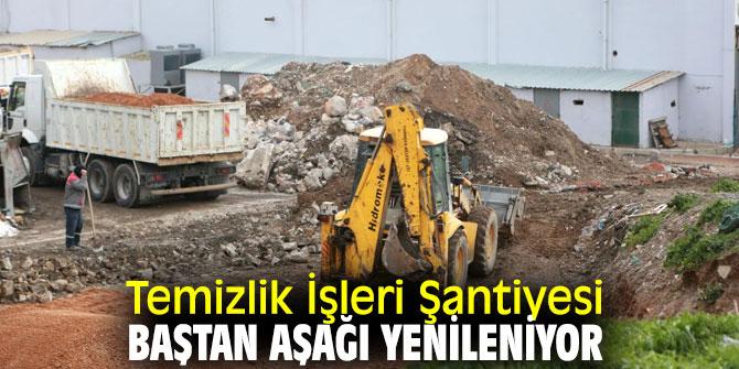 Bornova Belediyesi, Temizlik İşleri Müdürlüğü Şantiyesi'ni tamamen yeniliyor!