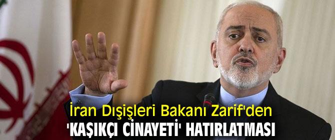 İran Dışişleri Bakanı Zarif'den flaş açıklama!